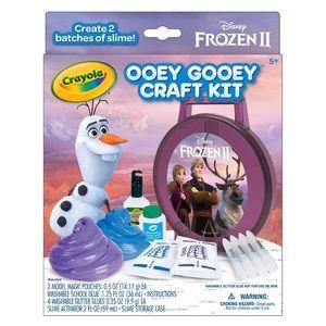 Frozen II Ooey Gooey Craft Kit - 2 Slime Kits, New